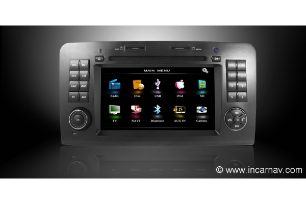 Mercedes benz ml gl class w164 7 dynavin touch screen for Mercedes benz navigation system